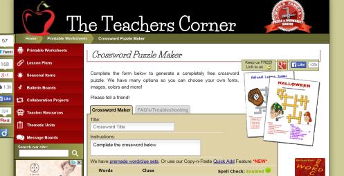 the teachers corner