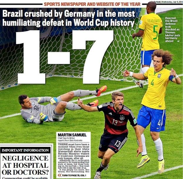 Brazil's defeat1